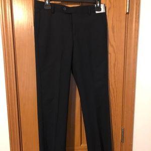 Nordstrom Brand Boy's Black Trousers (14)